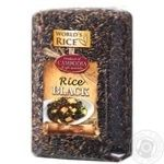 Рис World`s Rice черный 500г