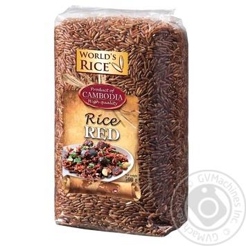 Рис Red World's Rice 500г