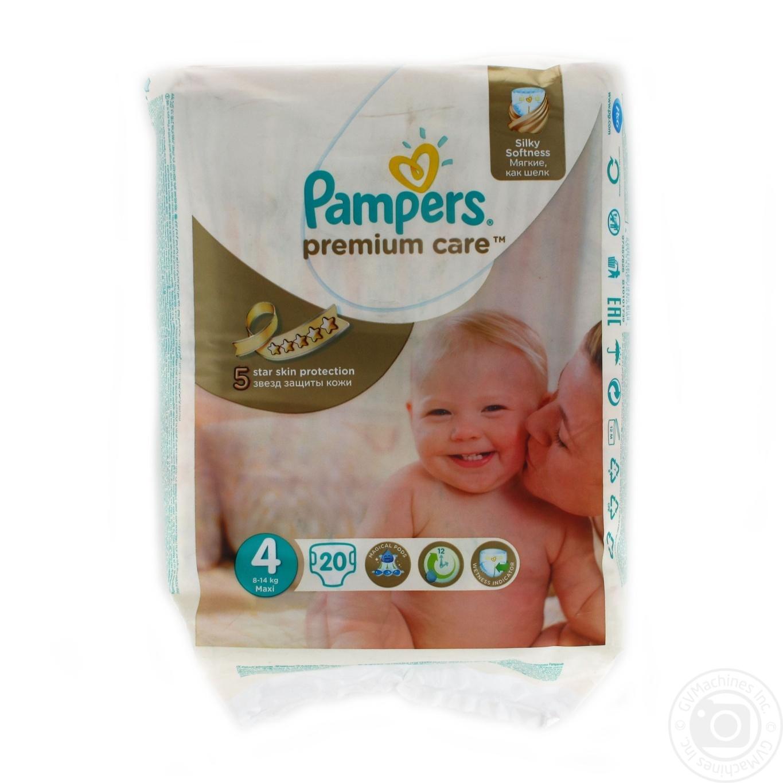 2c8c91167cd6 Подгузники Pampers Premium Care 4 Maxi 8-14кг 20шт → Детское ...