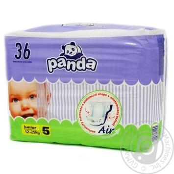 Diaper Panda Junior for children 12-25kg 36pcs