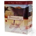 Wine Promenade red dry 11.5% 3000ml glass bottle France
