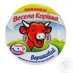 Сир Весела Корівка Вершковий плавлений 50% 90г пластиковий стакан