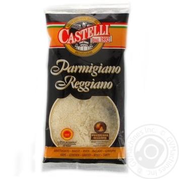 Сыр твердый Castelli Пармезан тертый 32% 70г