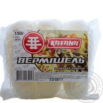 Вермишель Katana из бобовых культур 150г
