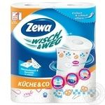 Паперові рушники Zewa Wisch&Weg Extra Lang 72 листа 2 шари 2шт