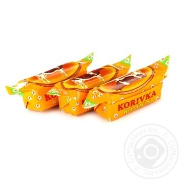 Конфеты Roshen Коровка помадные неглазированные весовые