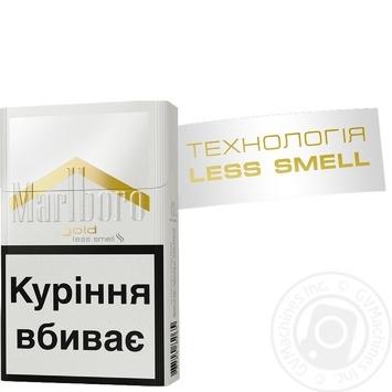 Цигарки Marlboro Gold Original - купити, ціни на Фуршет - фото 2