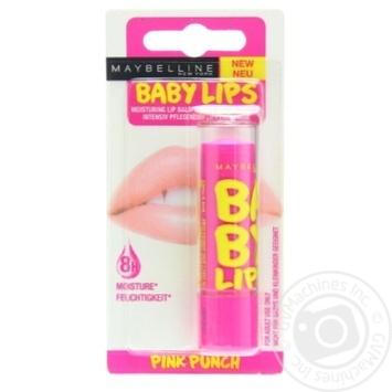 Бальзам для губ Maybelline New York Baby Lips Рожевий пунш 4,4г - купити, ціни на Восторг - фото 1