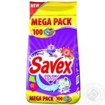 Стиральный порошок Savex Color 2в1 автомат 10000г