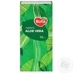 Paper handkerchiefs Ruta white with aloe aroma 3-ply 10pcs - buy, prices for Novus - image 6