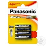 Батарейки Panasonic LR03 Alkaline Power ААА 4шт