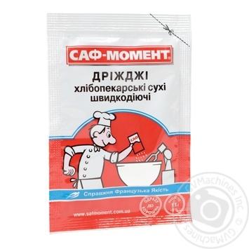Дріжжі Саф-Момент сухі хлібопекарські швидкодіючі 11г