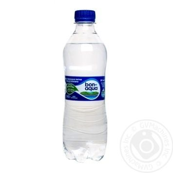 Вода Бонаква газированная 500мл - купить, цены на Novus - фото 1