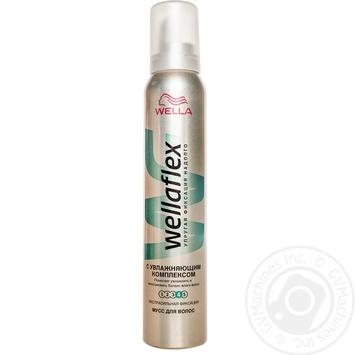 Мусс для волос Wellaflex с увлажняющим комплексом 200мл - купить, цены на Таврия В - фото 2
