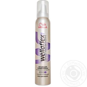 Wellaflex Hair Styling Volume Mousse - buy, prices for EKO Market - photo 1