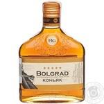 Коньяк Bolgrad Ординарный 5 звезд 40% 0,25л - купить, цены на Фуршет - фото 1