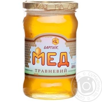 Мед цветочный Бартник майский разнотравья 400г - купить, цены на Novus - фото 1