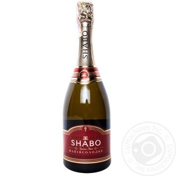 Вино игристое Shabo белое полусладкое 0,75л - купить, цены на Таврия В - фото 6