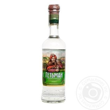 Нetman Hmelnitskyi Vodka on dill 0.5l - buy, prices for Furshet - photo 1