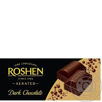 Шоколад экстрачерный пористый Рошен Классик 100г плиточный Украина - купить, цены на Фуршет - фото 8