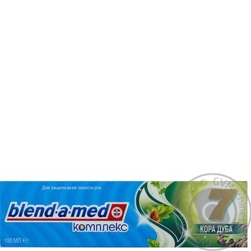 Зубная паста Blend-A-Med Комплекс Отбеливание + Природная свежесть Мята и эвкалипт 100мл - купить, цены на Ашан - фото 8