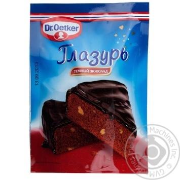 Glaze Dr.oetker for baking 100g - buy, prices for Novus - image 1
