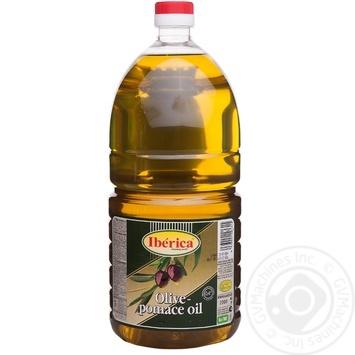 Масло Iberica оливковое рафинированное 2л - купить, цены на Novus - фото 1