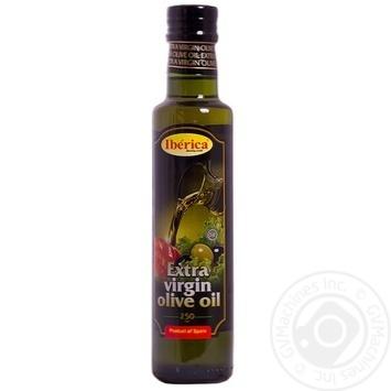 Олія Іберіка оливкова нерафінована екстра вірджин 250мл - купити, ціни на Ашан - фото 1