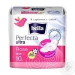 Прокладки гигиенические Bella Perfecta Ultra Rose 10шт - купить, цены на Novus - фото 2