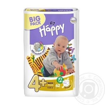 Bella Happy Maxi Plux Baby Diapers - buy, prices for Novus - image 1