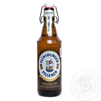 Пиво Flensburger Pilsner светлое 4.8% 0,5л