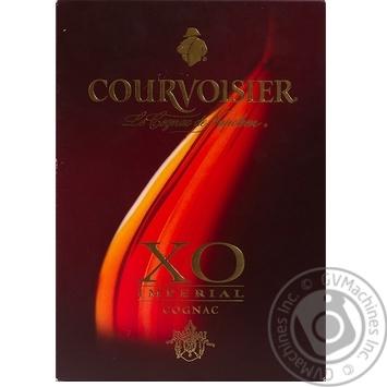 Коньяк Courvoisier Imperial Х.О. 40% 0,7л