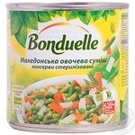 Vegetables Bonduelle Macedonian vegetable canned 400g can Hungary