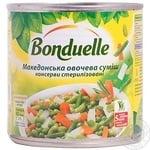 Овощная смесь Бондюэль Македонская 425мл Венгрия