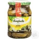Vegetables cucumber Bonduelle sterilized 550g glass jar Hungary