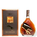 Cognac Meukow 40% xo 700ml in gift package France