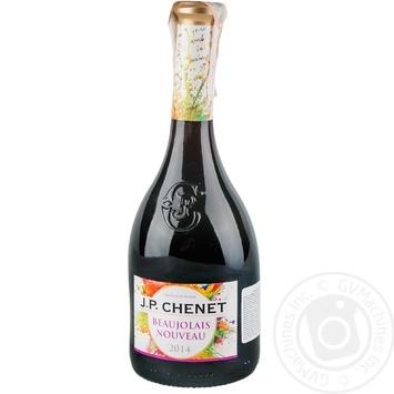 Wine Jean-paul chenet red dry 12% 1250g glass bottle