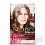 Color L'oreal Excellence light brown for hair