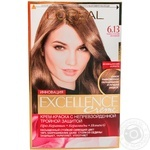 Color L'oreal Excellence dark brown for hair