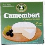 Сыр Казерай Шампиньон камамбер мягкий с плесенью 50% 125г