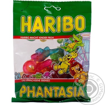 Candy Haribo Fantaziya 200g flow-pack