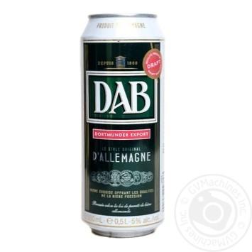 Пиво Даб Ориджинал светлое 5%об. 500мл