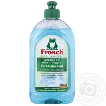 Means Frosch for washing dishes 500ml Germany