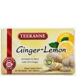 Чай Тікане Імбир та Лимон трав'яний в пакетиках 20х1.75г Німеччина