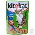 Kitekat With Fish In Sauce For Cats Food