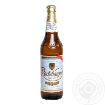 Пиво Радебергер Пилснер светлое пастеризованное 4.8%об. 500мл