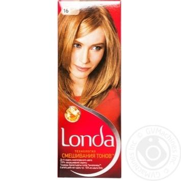 Крем-фарба для волосся Londa Технологія змішування тонів №16 Середньо-русявий
