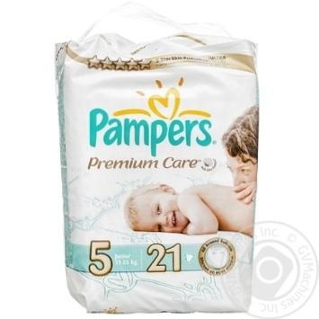 Подгузники детские Pampers Premium Care Junior 11-25 кг 21шт