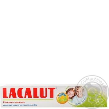 Зубная паста Lacalut детская тщательная чистка 50мл