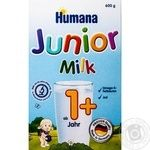 Смесь молочная Хумана 4 Джуниор сухая детская с 12 месяцев 600г
